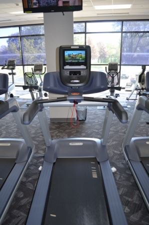 Treadmill with Cable Internet