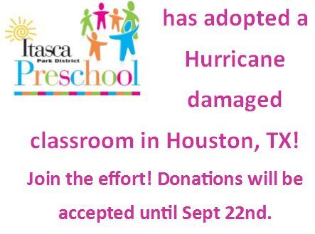 Preschool Hurricane Fundraising