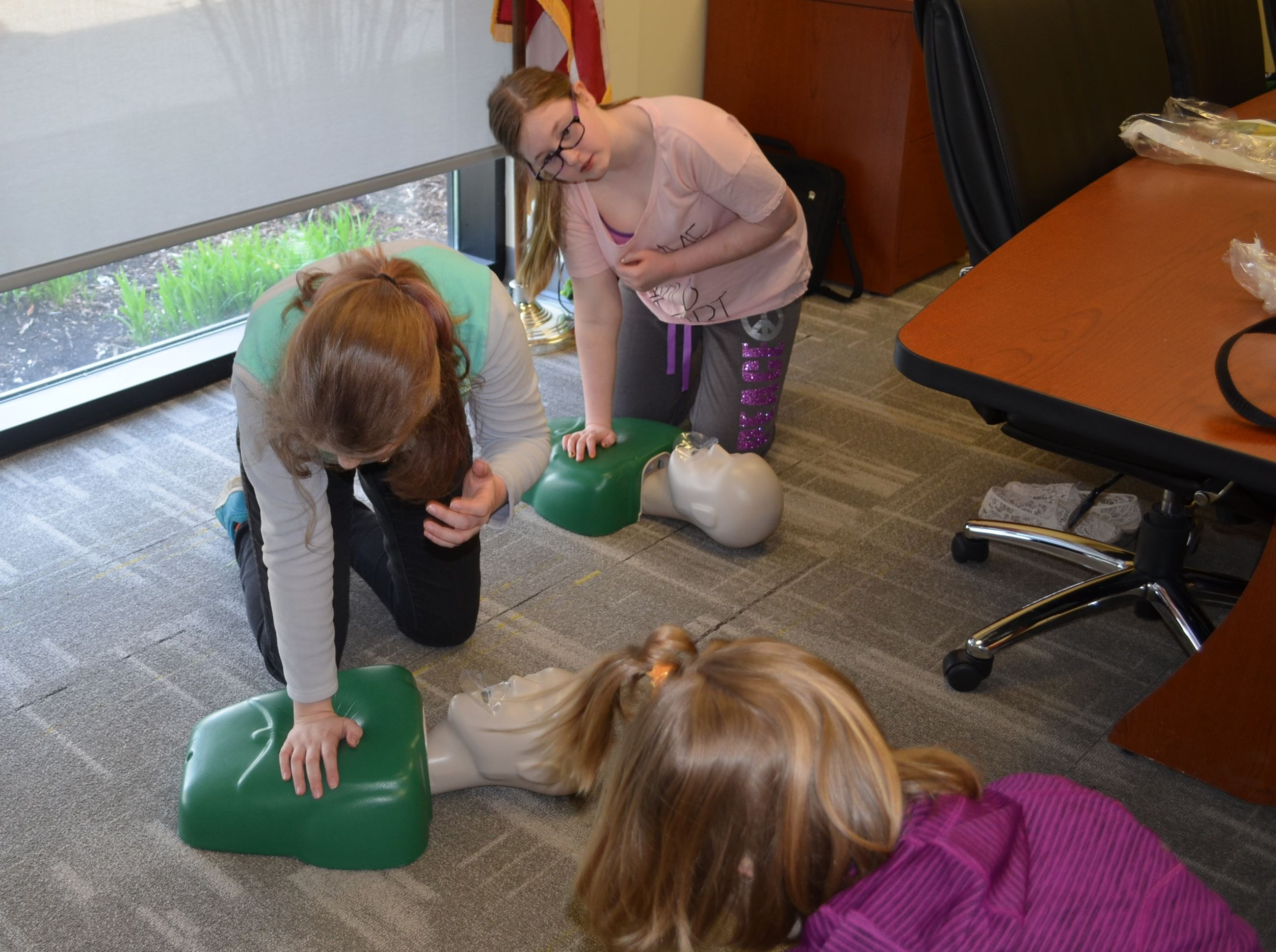Safe Sitter CPR Training