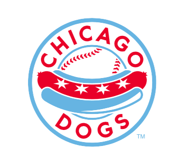 Chicago Dogs Baseball Team logo