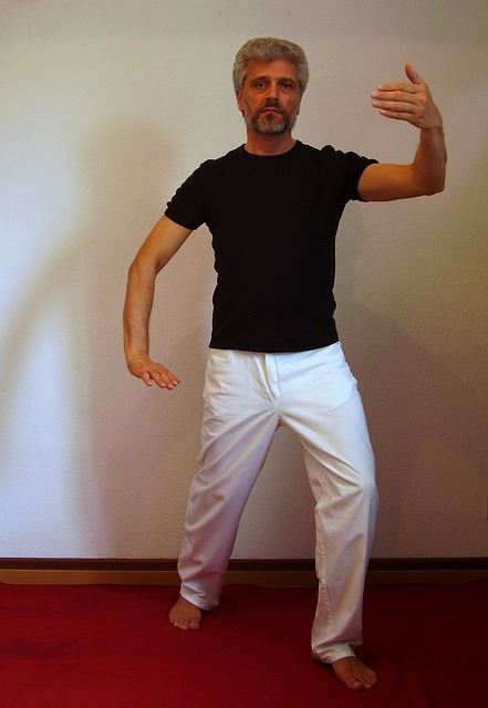 man doing tai-chi