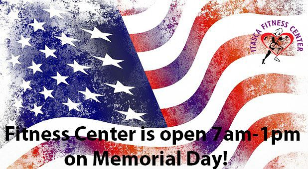 Fitness Hours Memorial Day 2019