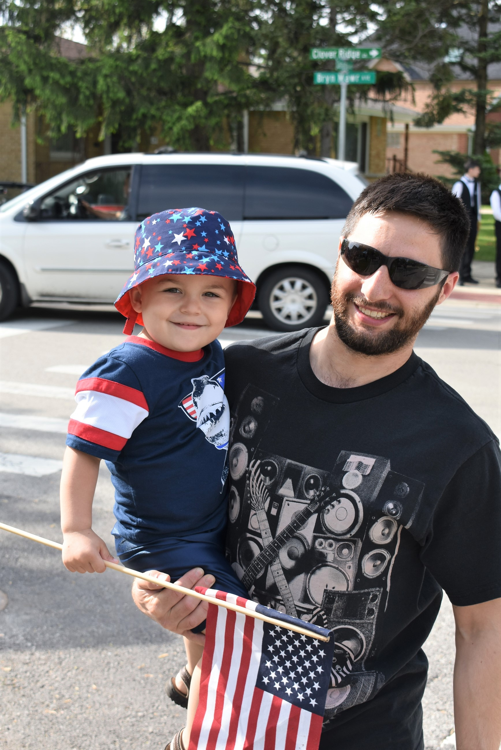 Mem Day Parade Boy and Dad 2019.JPG