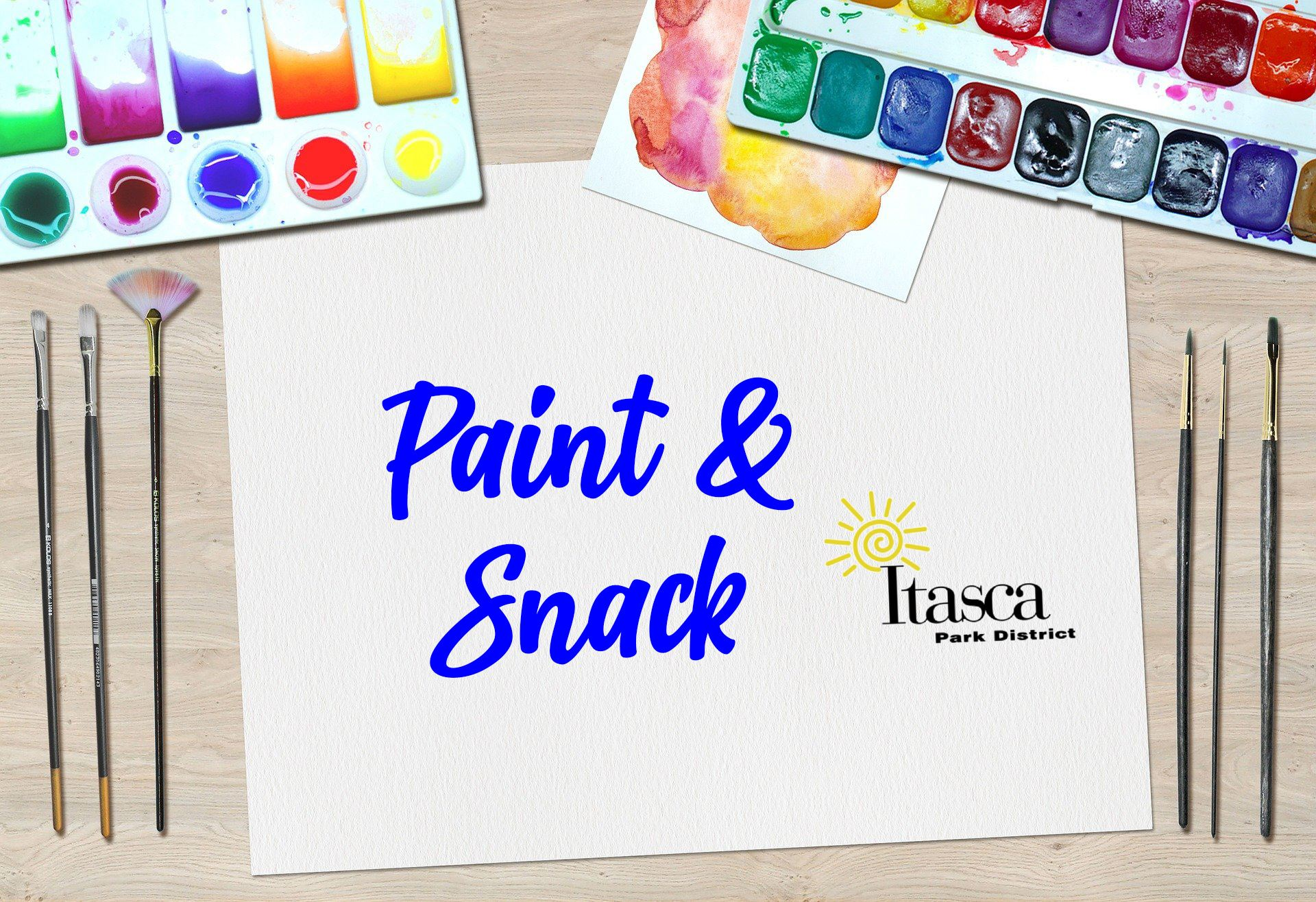 paint and snack