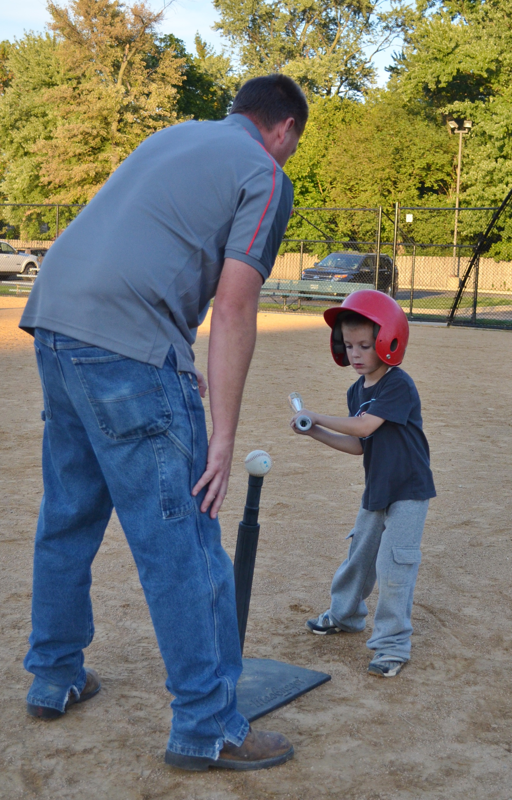 Adult and Tot Tball