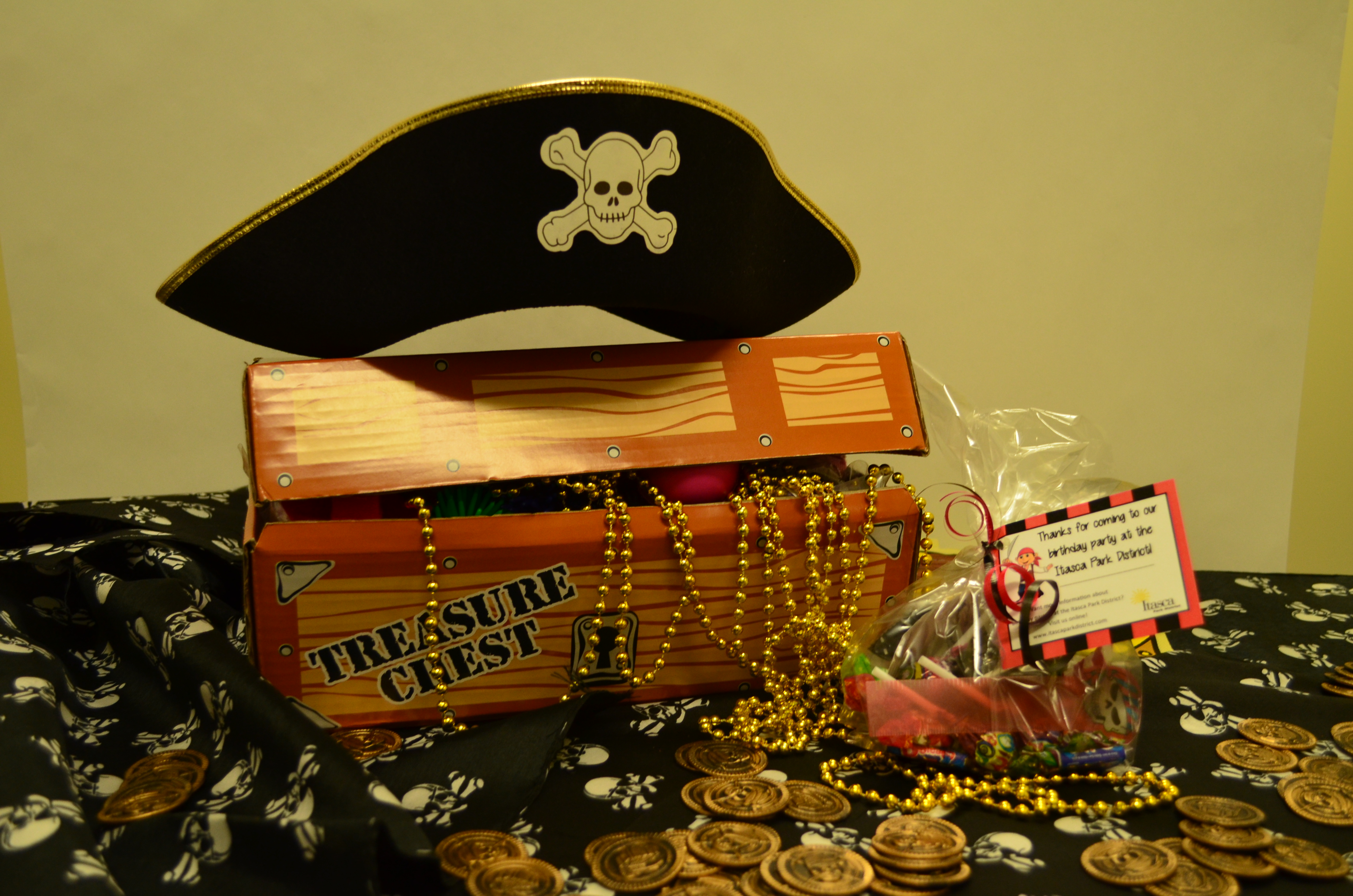 Itasca Pirate Birthday Party