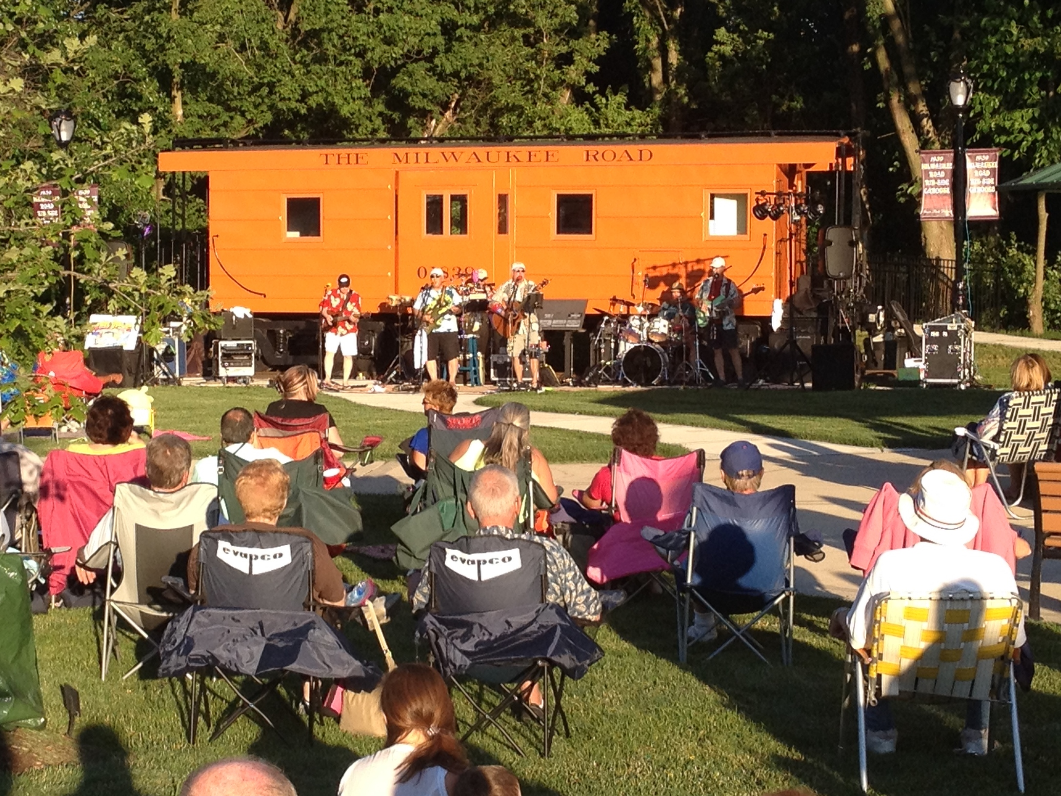 2014 Concert at Caboose