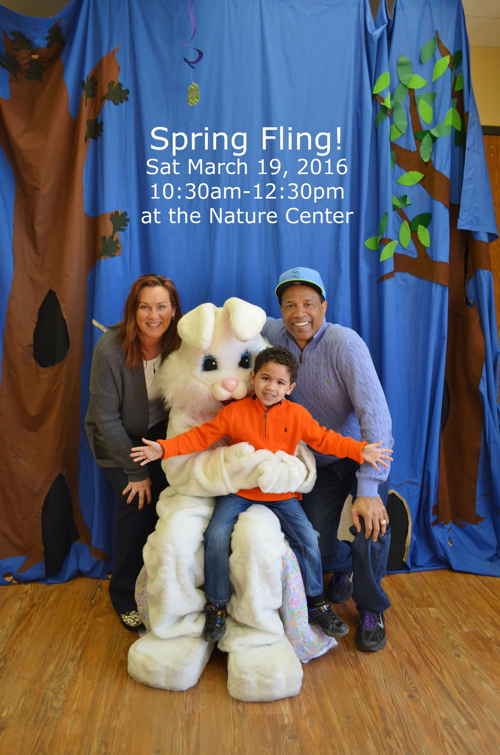 Itasca Spring Fling 2016 Jacques with the Bunny