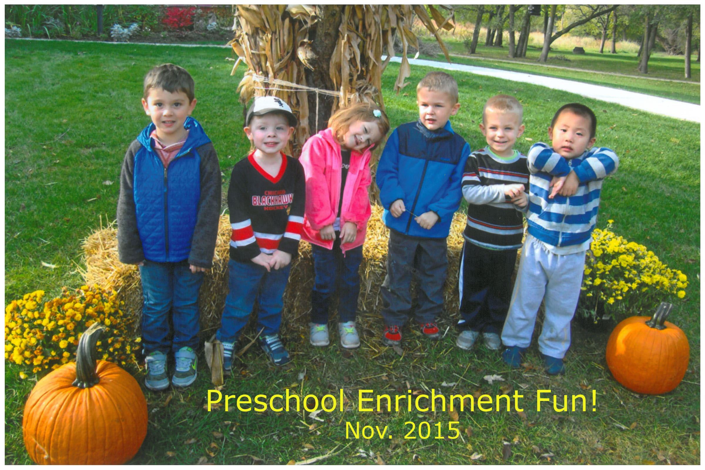 Preschool Enrichment photo 2015