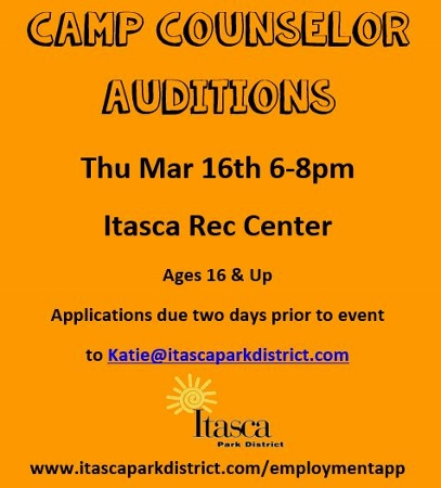 Cam Counselor Audition Info